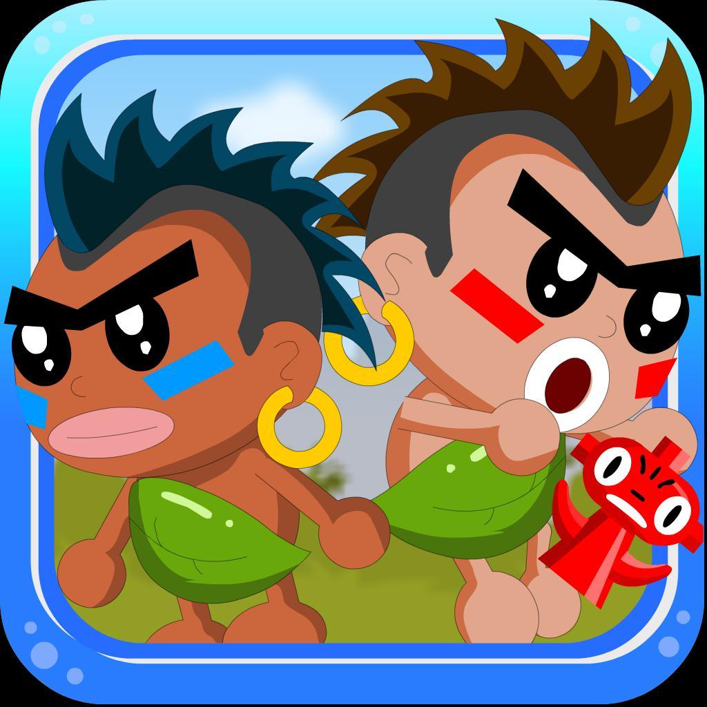 双人原始人兄弟-双人游戏