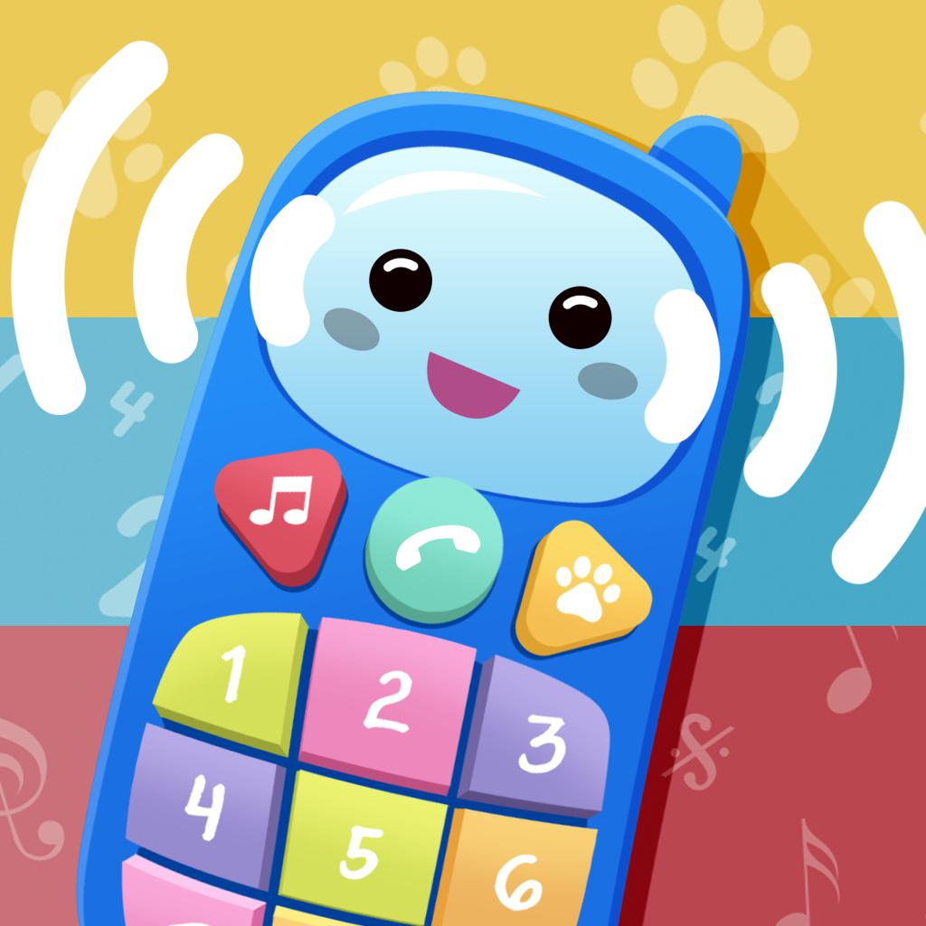 Baby Phone. Musical educational game for toddlers