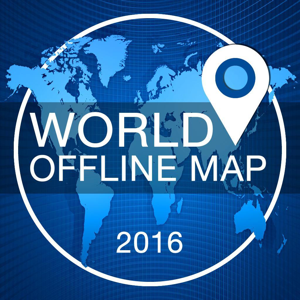 Мир Офлайн Карты + Голос Навигатор и видео-камеры тире