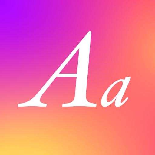 Fonts for social networks