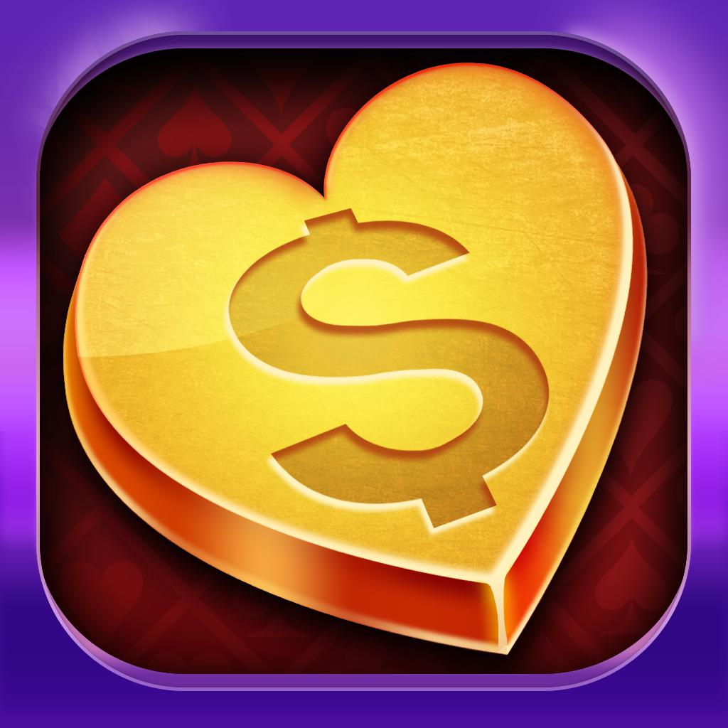 Heart of Gold! FREE Rich Vegas Casino Pokies of the Grand Palace!
