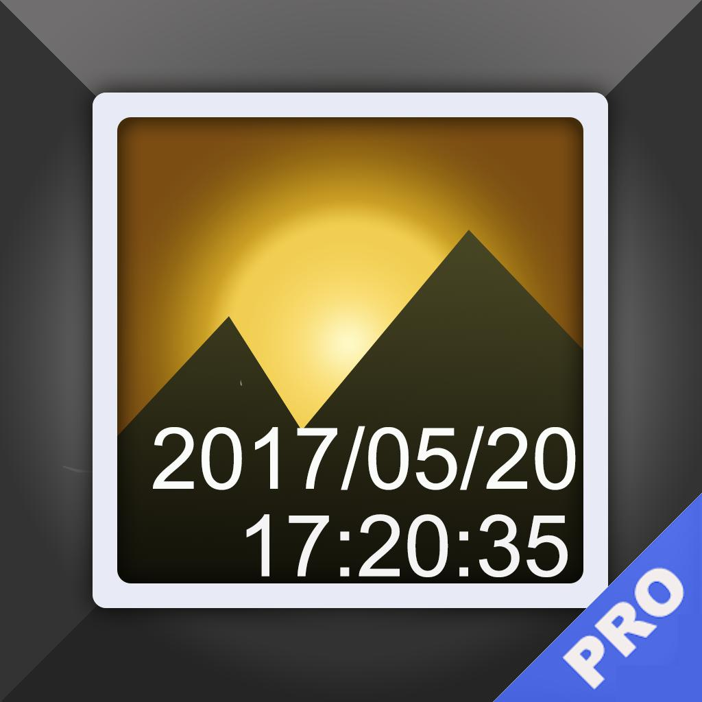 Timestamp Photo and Video pro