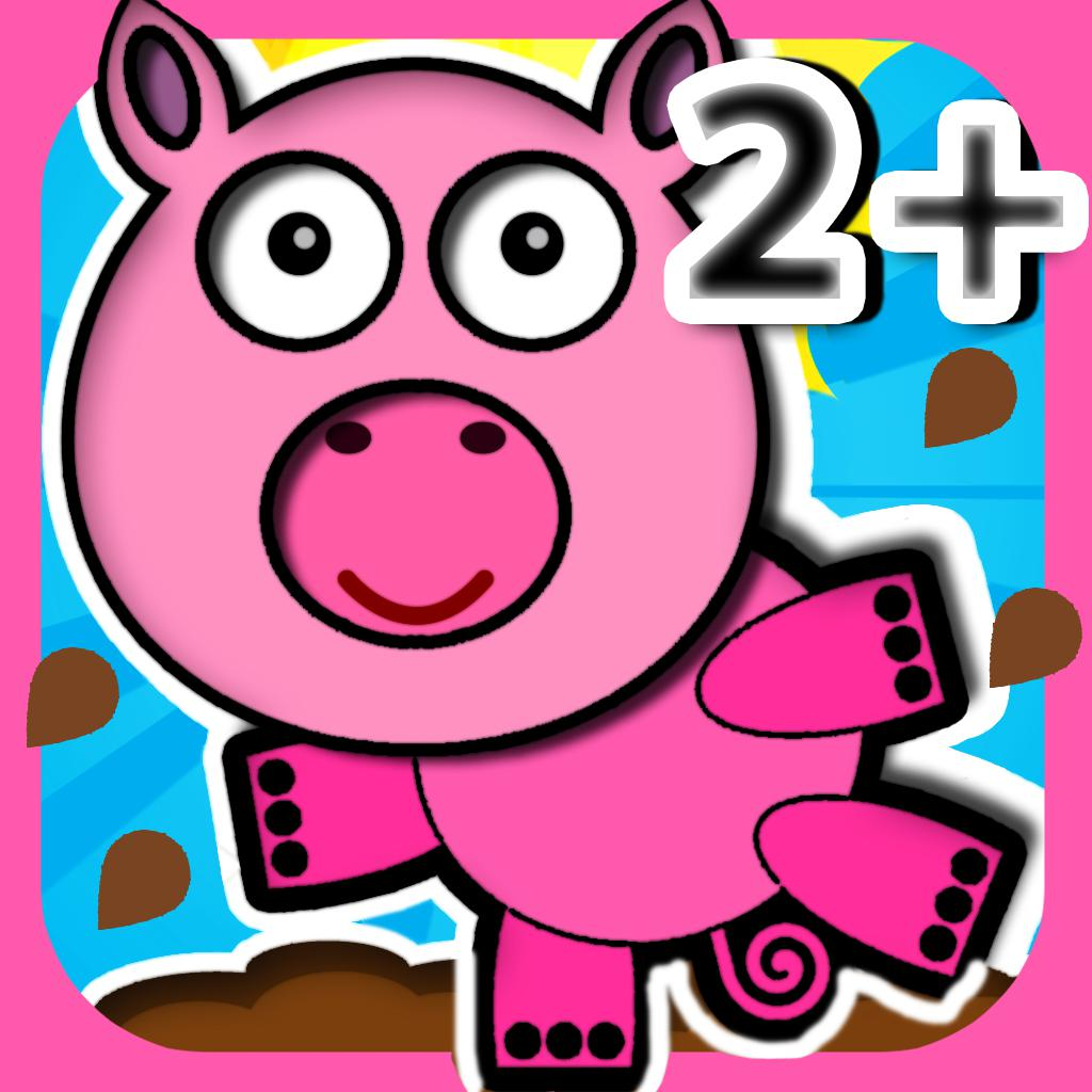 Pig Holiday Preschool Games - Free